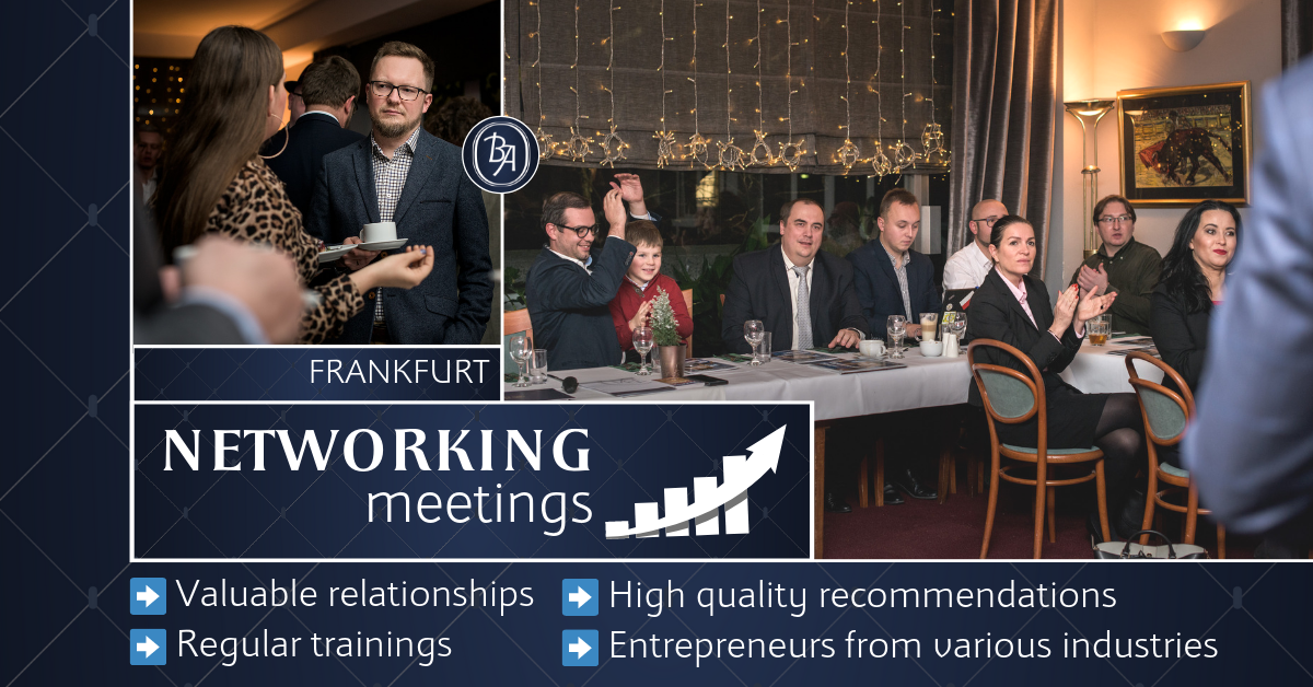mBooked.com, Networking events in Frankfurt, Offenbach am Main, Business Association