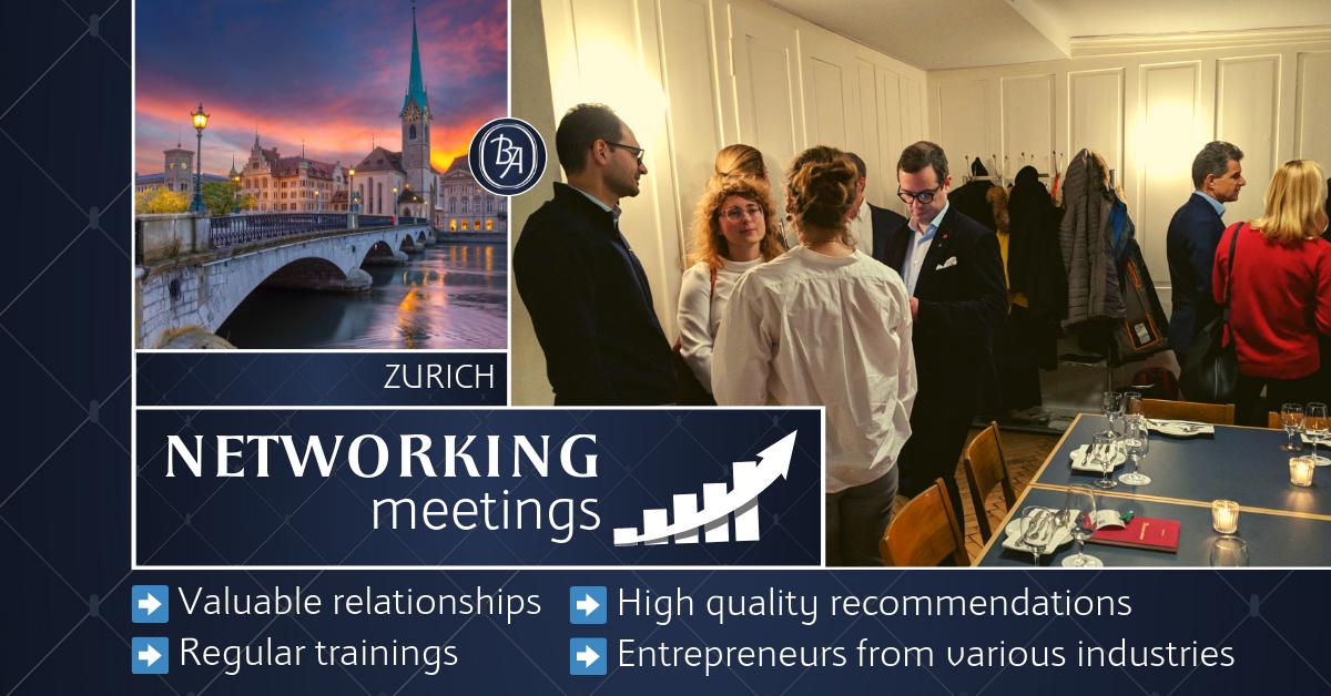 mBooked.com, Zurich Business Association [October 16th], Zürich, Business Association